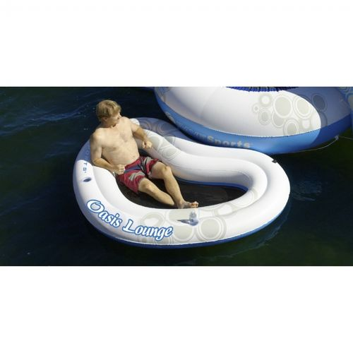 Oasis Lounge Inflatable Lake Pool for O-Zone Bouncers RS02420