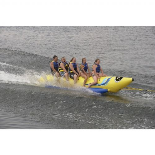 Waterboggan 5 Five Rider Towable Banana Tube RS03500