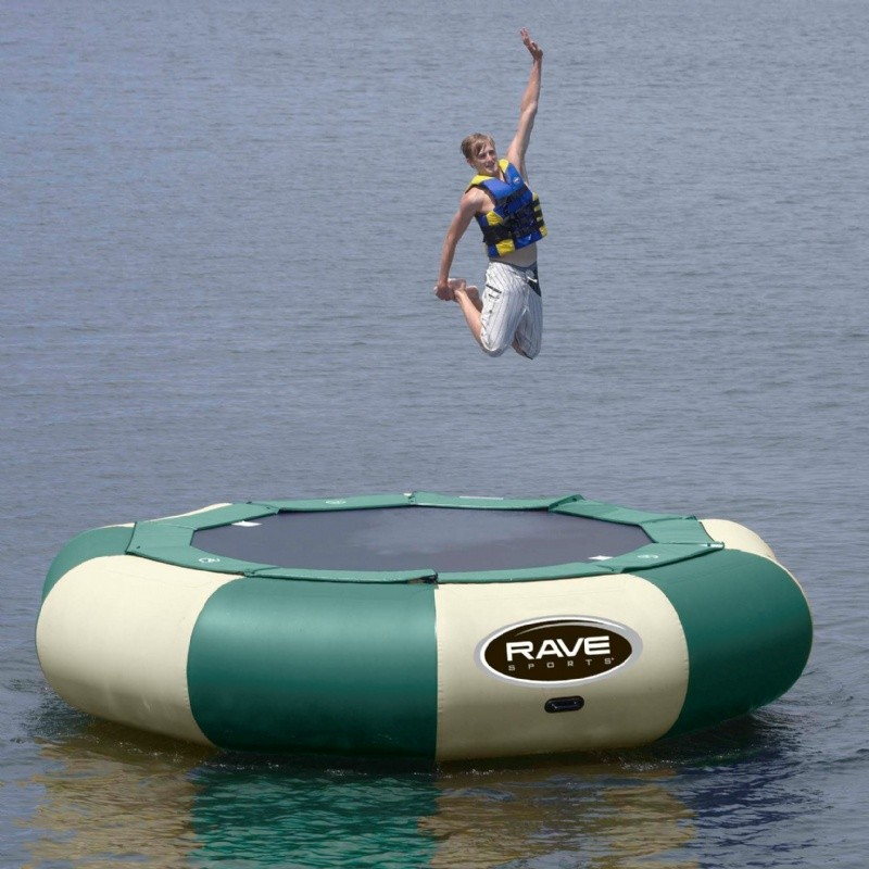 Aqua Jump Eclipse150 Northwood's Water Trampoline with 15 feet Diameter