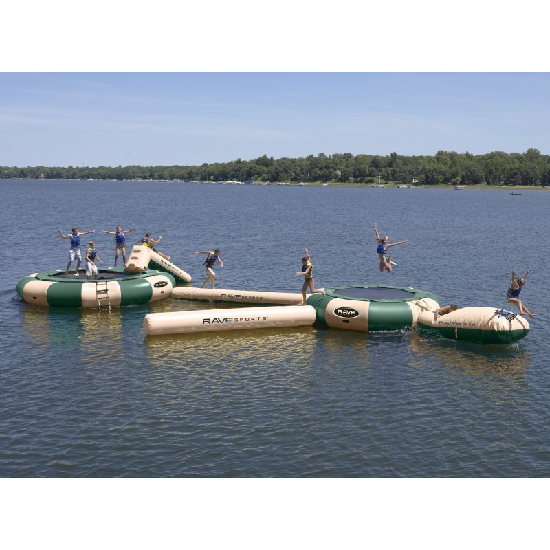 Aqua Jump Eclipse200 Northwood's Water Trampoline with 19 feet Diameter