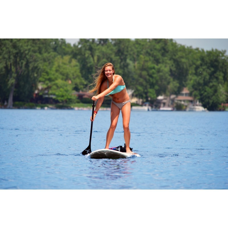Lake cruiser 11 39 6 stand up paddle board sup red for Stand up pool