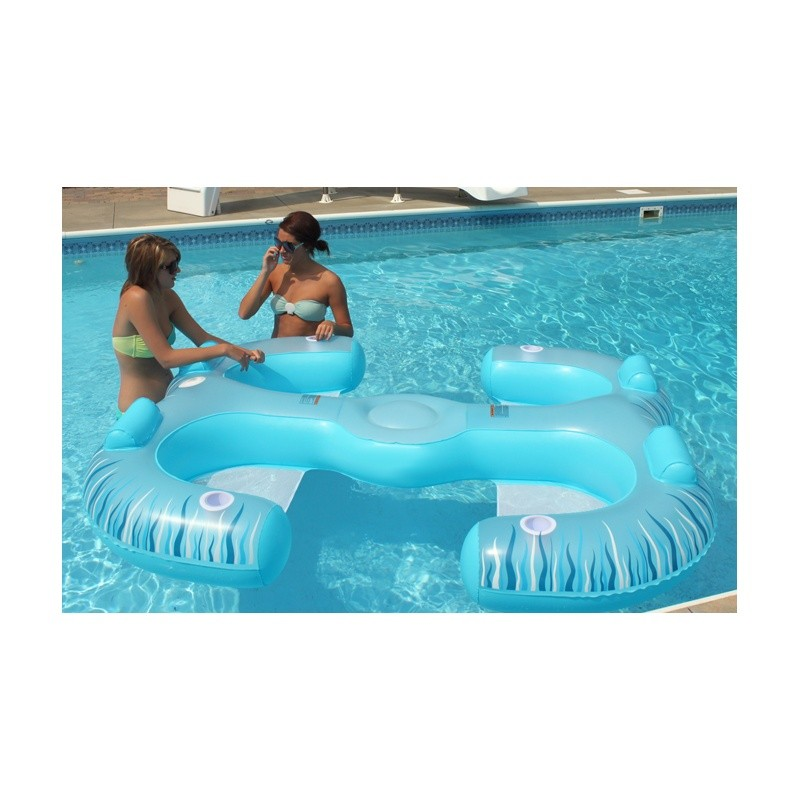 Paradise Lounge Inflatable Pool Float alternative photo #0