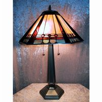 Mission Style Table Lamp P1803