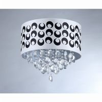 Tiffany Pattern Crystal Chandelier RL1064