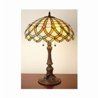 Tiffany Style Ribbon Table Lamp BB136-280
