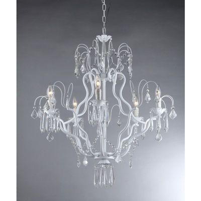 5 Light Crystal Chandelier RL1020