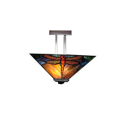 Dragonfly Tiffany-style Pendant Light Fixture P16957