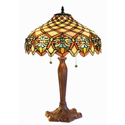 Tiffany-Style Ariel Shade Table Lamp 3046-BB1055