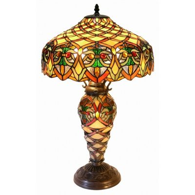 Tiffany Style Arielle Lamp 3046-GLS