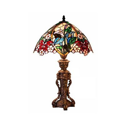 Tiffany Style Floral Design Table Lamp 2848-BB818