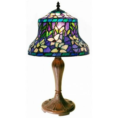 Tiffany-style Accent Table Lamp 1944-MB178