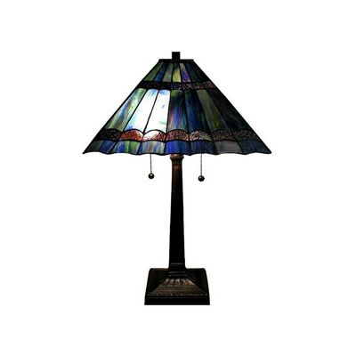 Tiffany-style Gothique Table Lamp BB388-1446