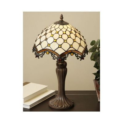 Tiffany-style Jewel Roman Table Lamp TFW9001-12TL