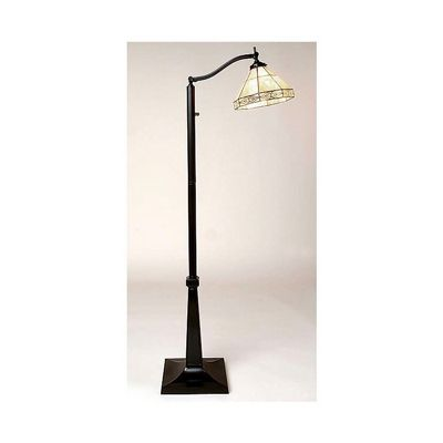 tiffany style mission reading floor lamp tsc09035 fz002 cozydays. Black Bedroom Furniture Sets. Home Design Ideas