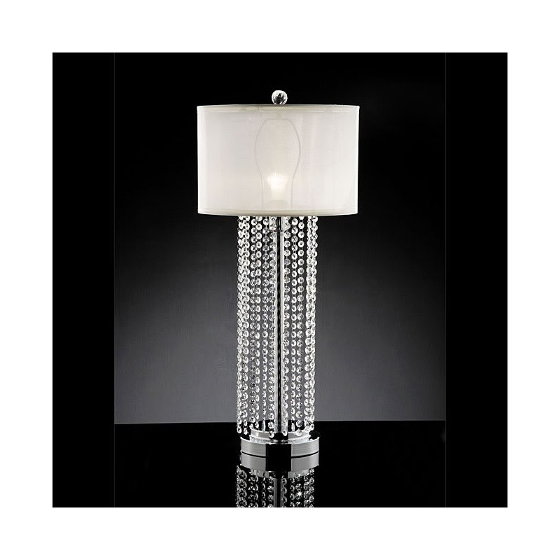 Chloe Crystal Table Lamp