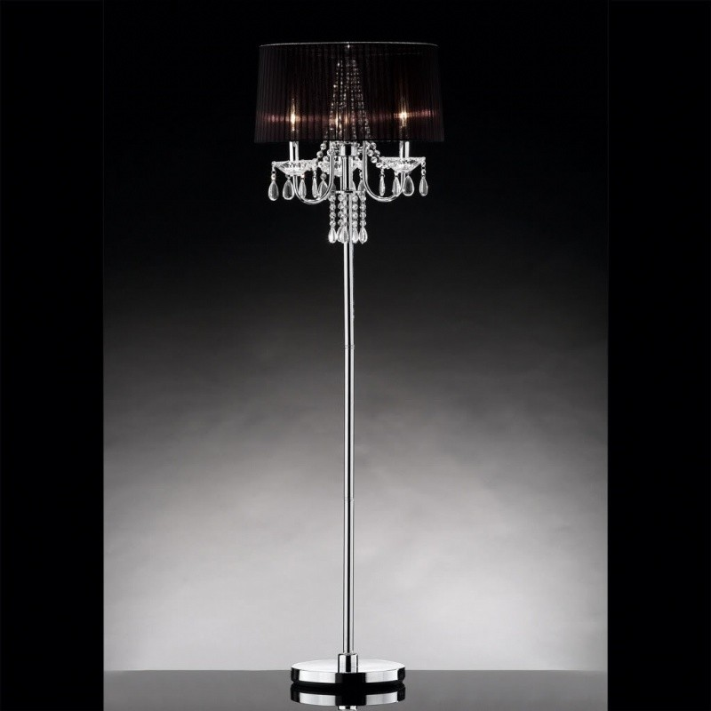 Concordia Crystal Floor Lamp