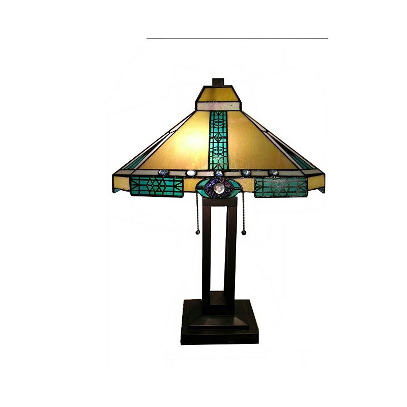 Tiffany Style Mission Lamp