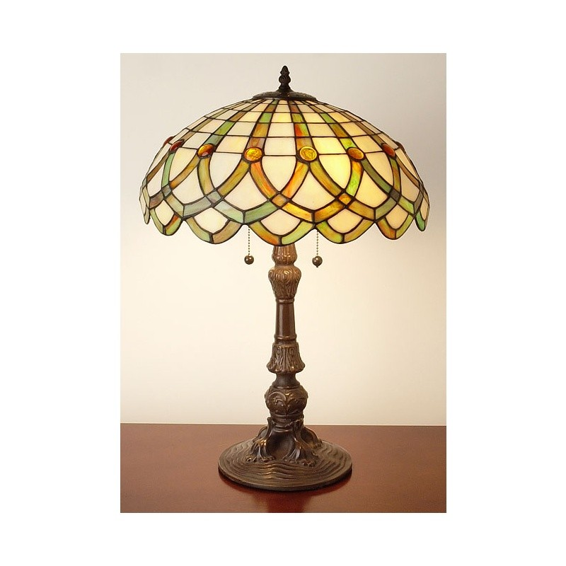 Tiffany Style Ribbon Table Lamp