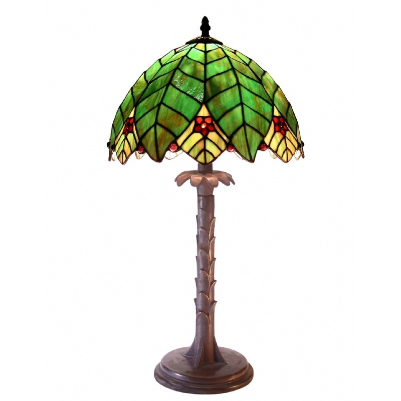 Lighting: Classic Table Lamps: Tiffany Style Tree Shape Table Lamp