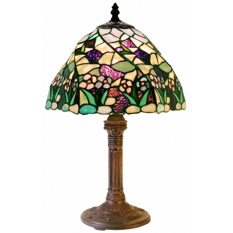 Most Popular in Michigan: Lighting: Classic Table Lamps: Tiffany-style Lake Table Lamp