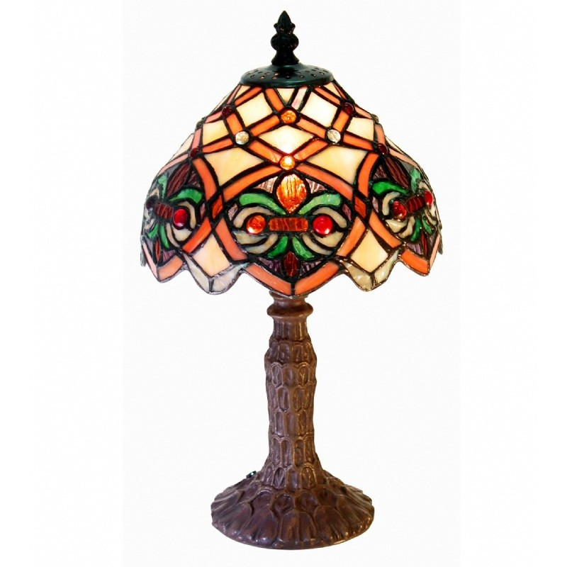 Lighting: Classic Table Lamps: Tiffany-style Small Arielle Accent Lamp