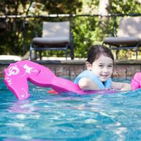 Flipper Dipper Seahorse Child Pool Float SS86142