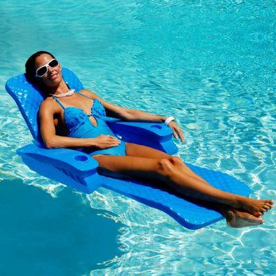 Folding Baja Ii Pool Float Lounge Ss65701 Cozydays