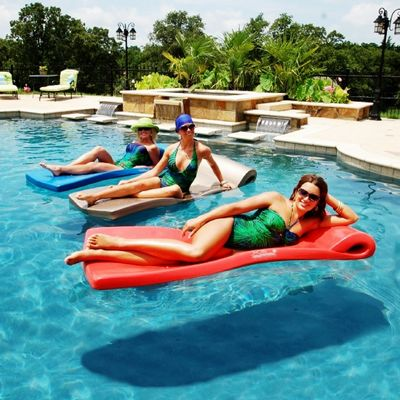 Pool Floats Foam Inflatable Canvas Cozydays