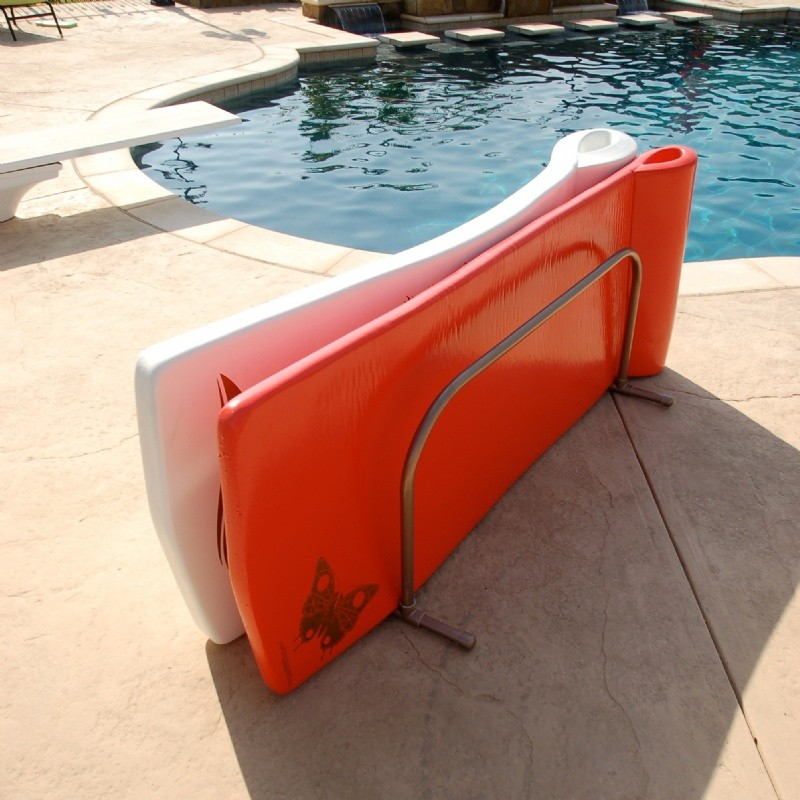Pool Float Storage Rack in Bronze