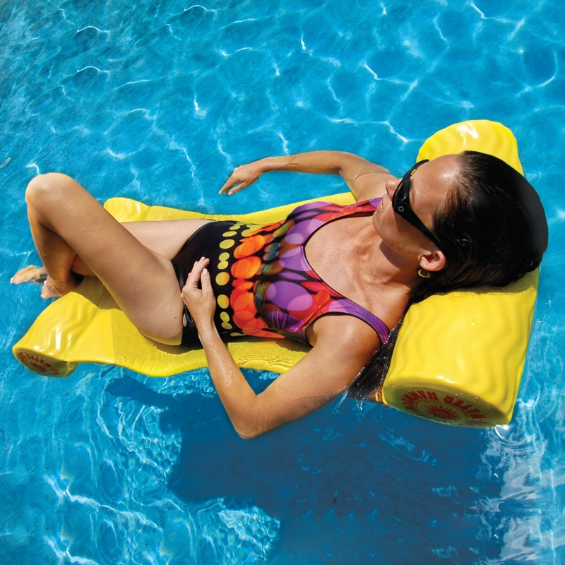 Cloth Covered Pool Floats: Suncliner Hammock Pool Float