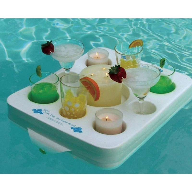 Custom Logo Pool Floats: Kool Ultra Floating Tray