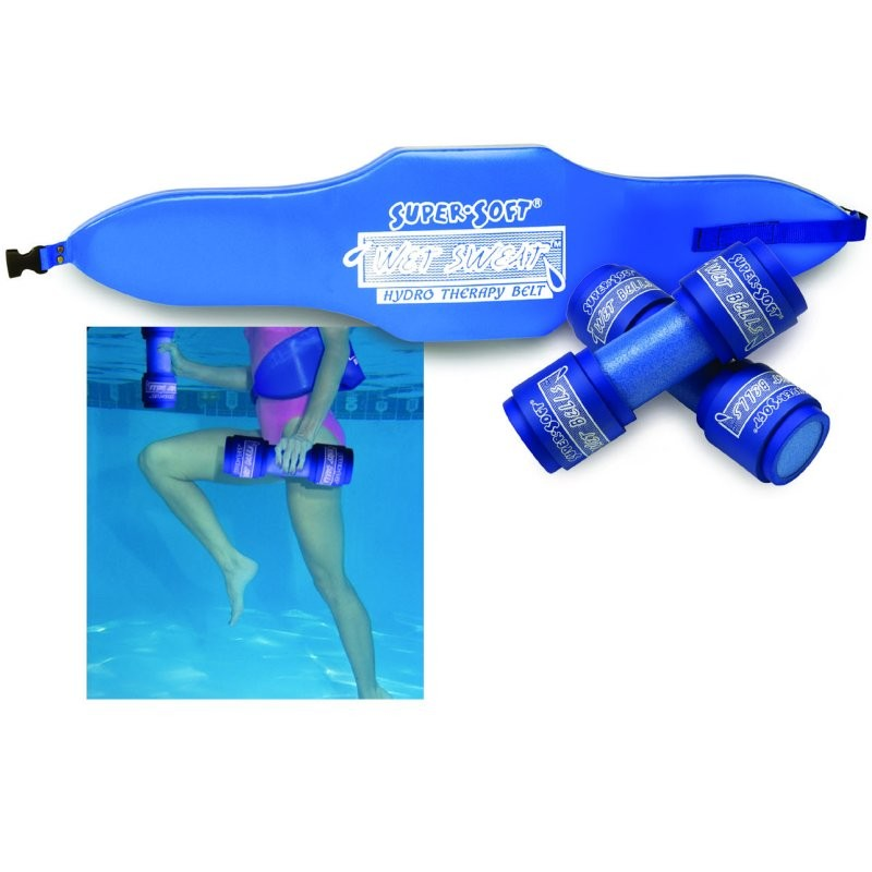 Pool and Spa Accessories: Wet Sweat Water Fitness Kit S/M