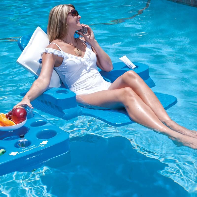 Folding Baja Floating Pool Chair Ss63701 Cozydays