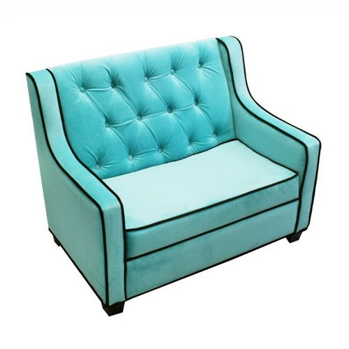 Tween Grand Sofa Aqua - Choco 96001