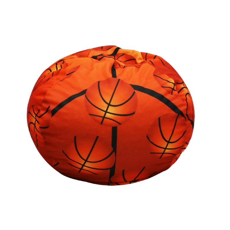 Furniture: Kids Bean Bags: Basketball Bean Bag