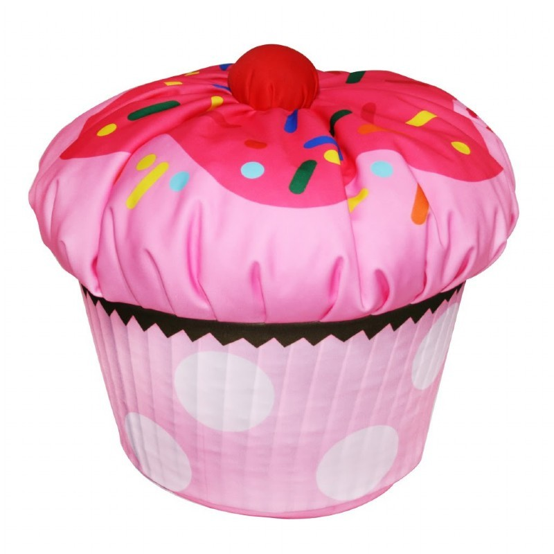 Furniture: Kids Bean Bags: Cupcake Bean Bag