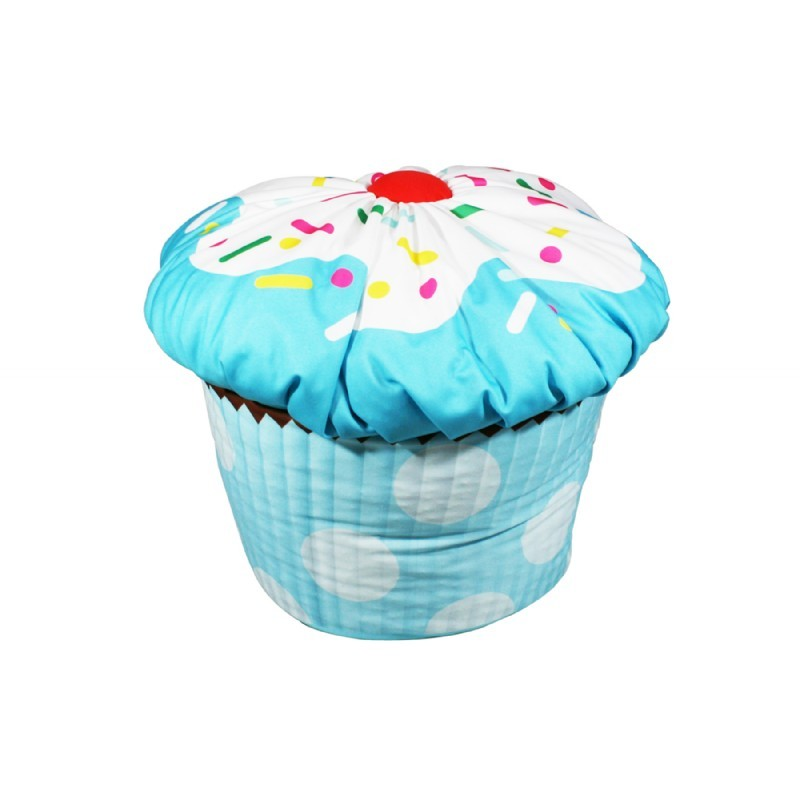 Cupcake Bean Bag Blue : Kids Bean Bags