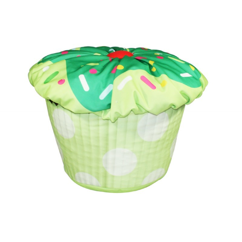 Cupcake Bean Bag Green : Kids Bean Bags