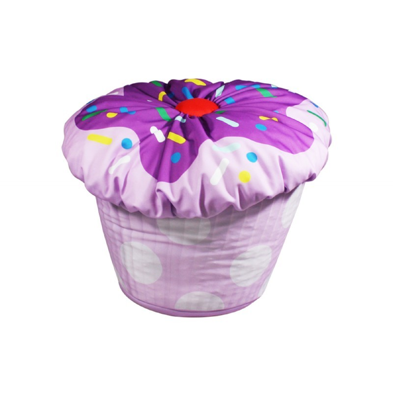 Cupcake Bean Bag Lavender : Kids Bean Bags