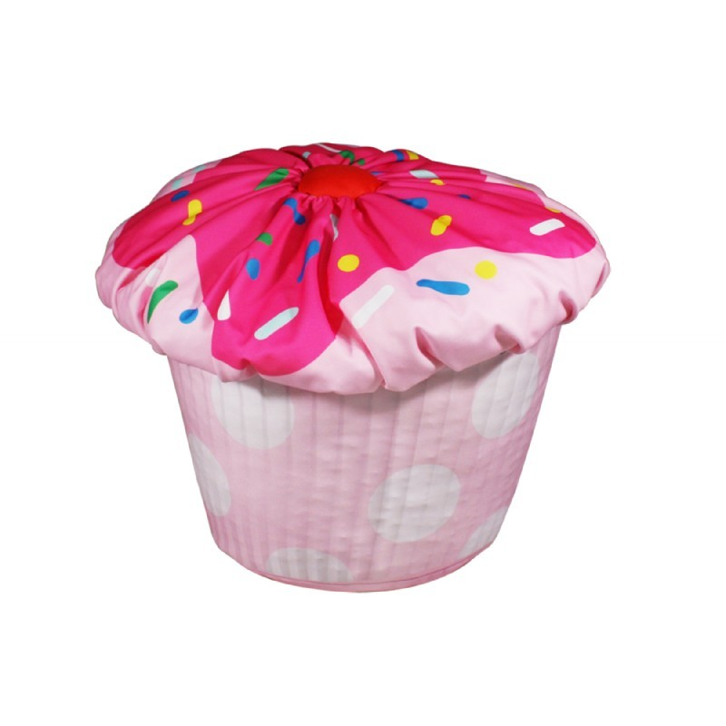 Cupcake Bean Bag Pink : Kids Bean Bags