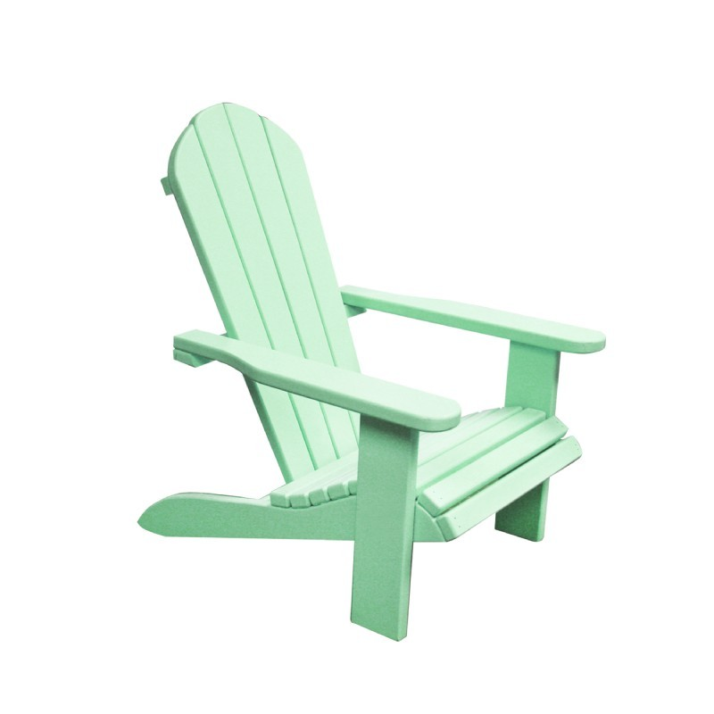 Kids Wooden Outdoor Chair - Green : Adirondack Chairs