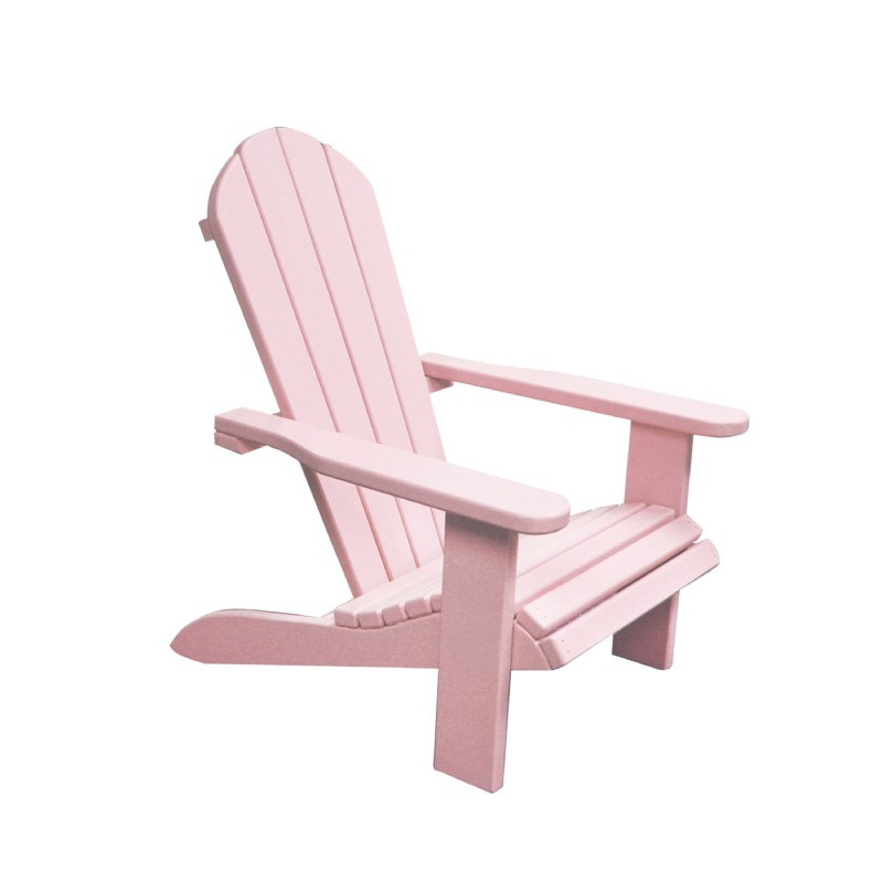 Kids Wooden Outdoor Chair - Pink : Adirondack Chairs