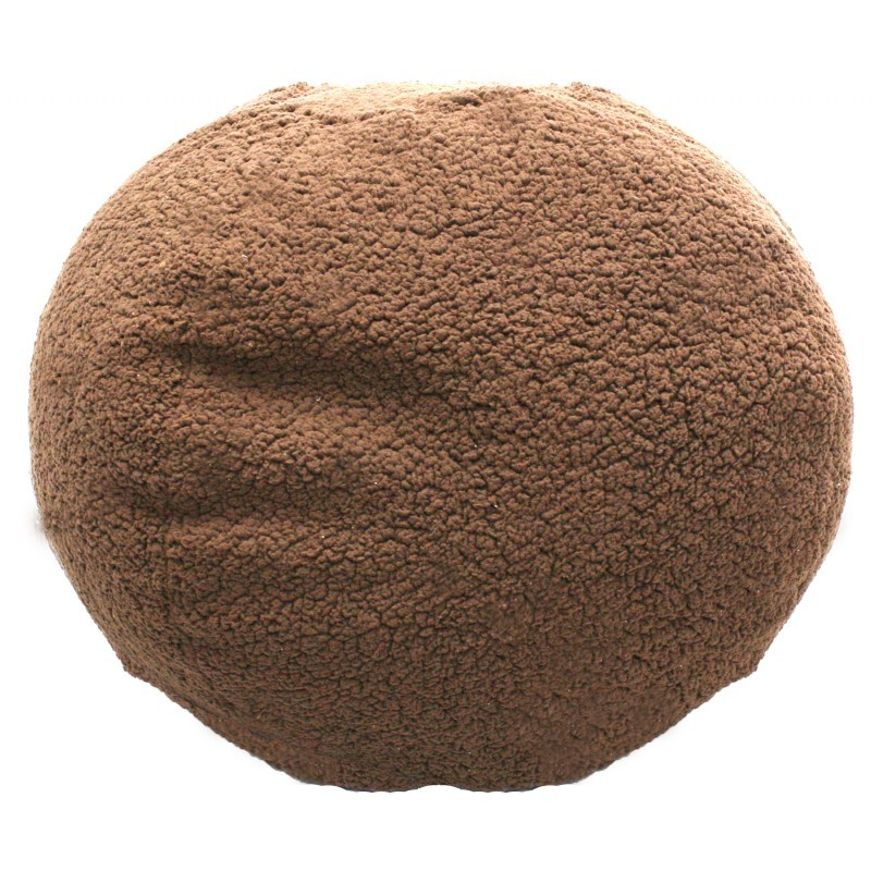 Sherpa Chocolate Bean Bag : Kids Bean Bags