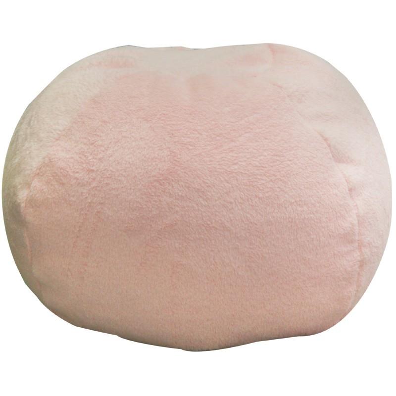 Sherpa Light Pink Bean Bag