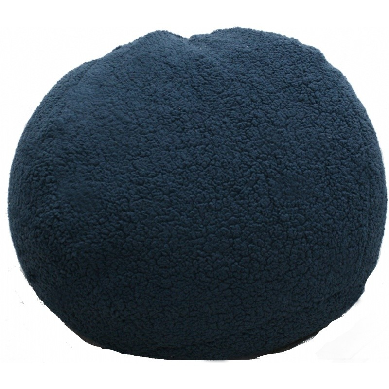 Sherpa Navy Bean Bag : Kids Bean Bags