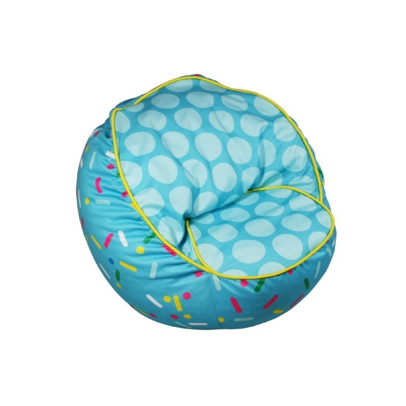 Sprinkles Bean Chair Blue : Kids Bean Bags