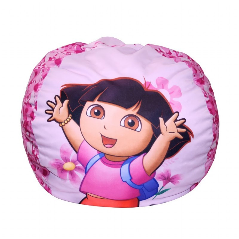 Furniture: Kids Bean Bags: Dora Flowers Bean Bag