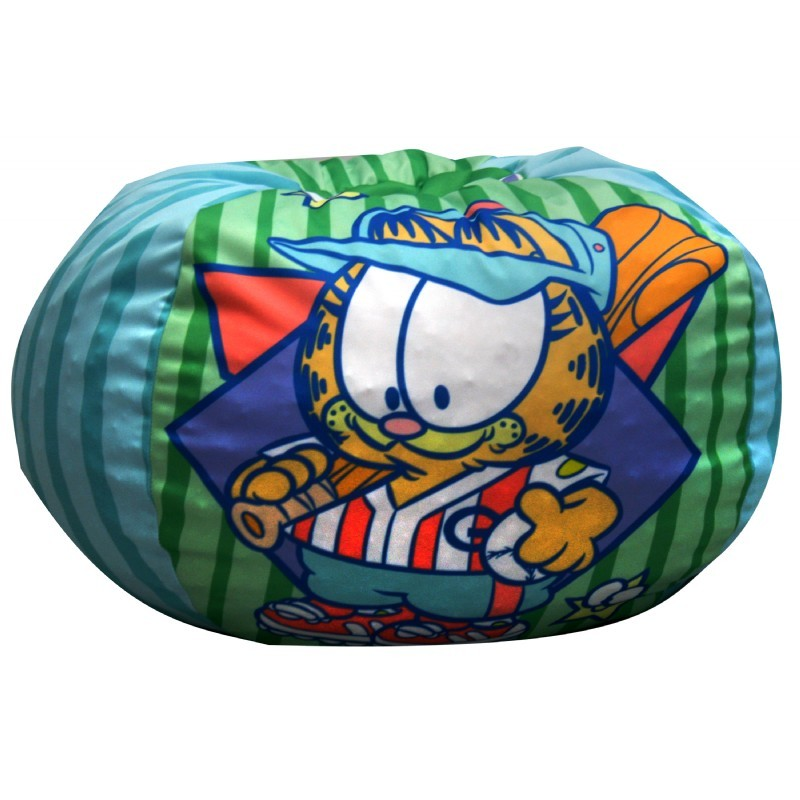 Furniture: Kids Bean Bags: Baby Garfield Baseball Kids Bean Bag