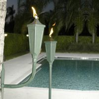 Sconce Garden Torches 6 Pack SLST6