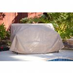 "Duck Covers Patio Loveseat Cover- 54""W × 37""D × 35""H MLV543735"